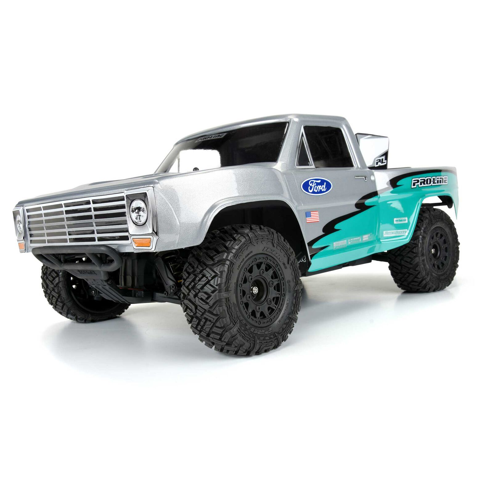 "1/10 Icon SC 2.2""/3.0"" All Terrain Front/Rear Tires (2): SC Trucks"
