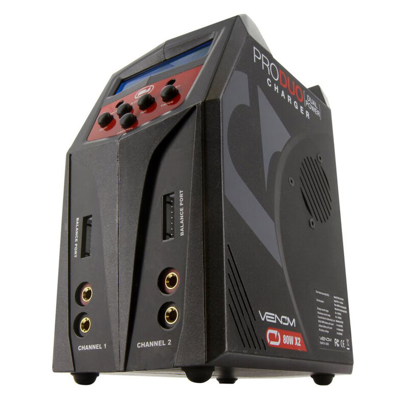 Pro 160W Duo AC/DC LiPo and NiMH Battery Charger