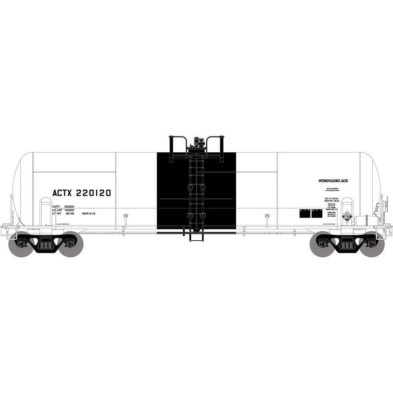 HO RTR RTC 20,900-Gal Acid Tank, ACTX #220120