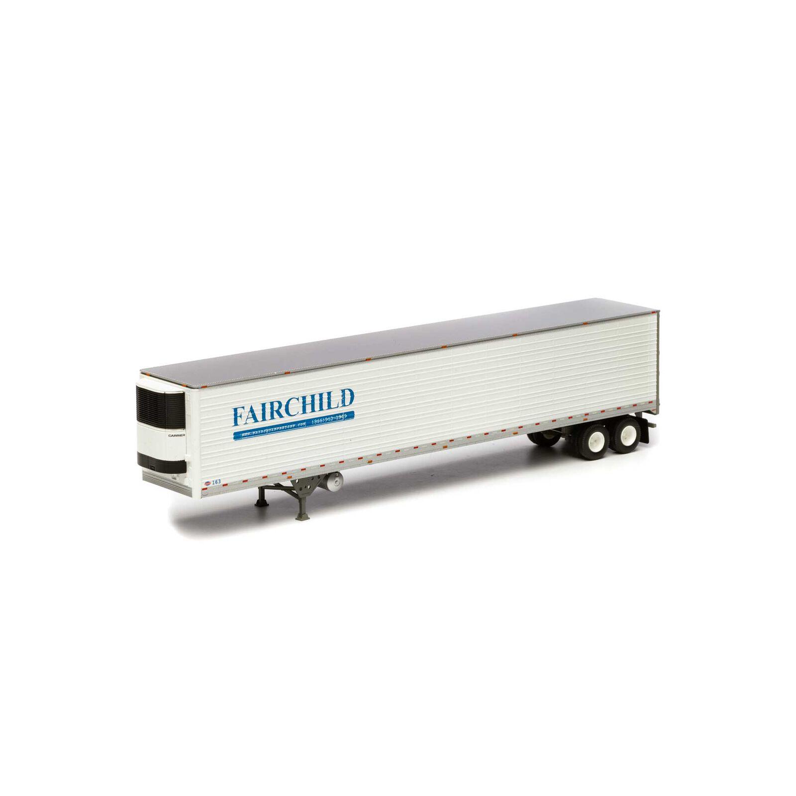HO RTR 53' Utility Reefer Trailer Fairchild #163