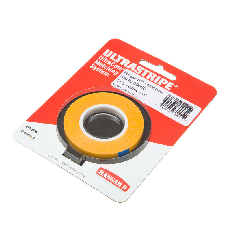 "UltraStripe, Cub Yellow 1/4"""