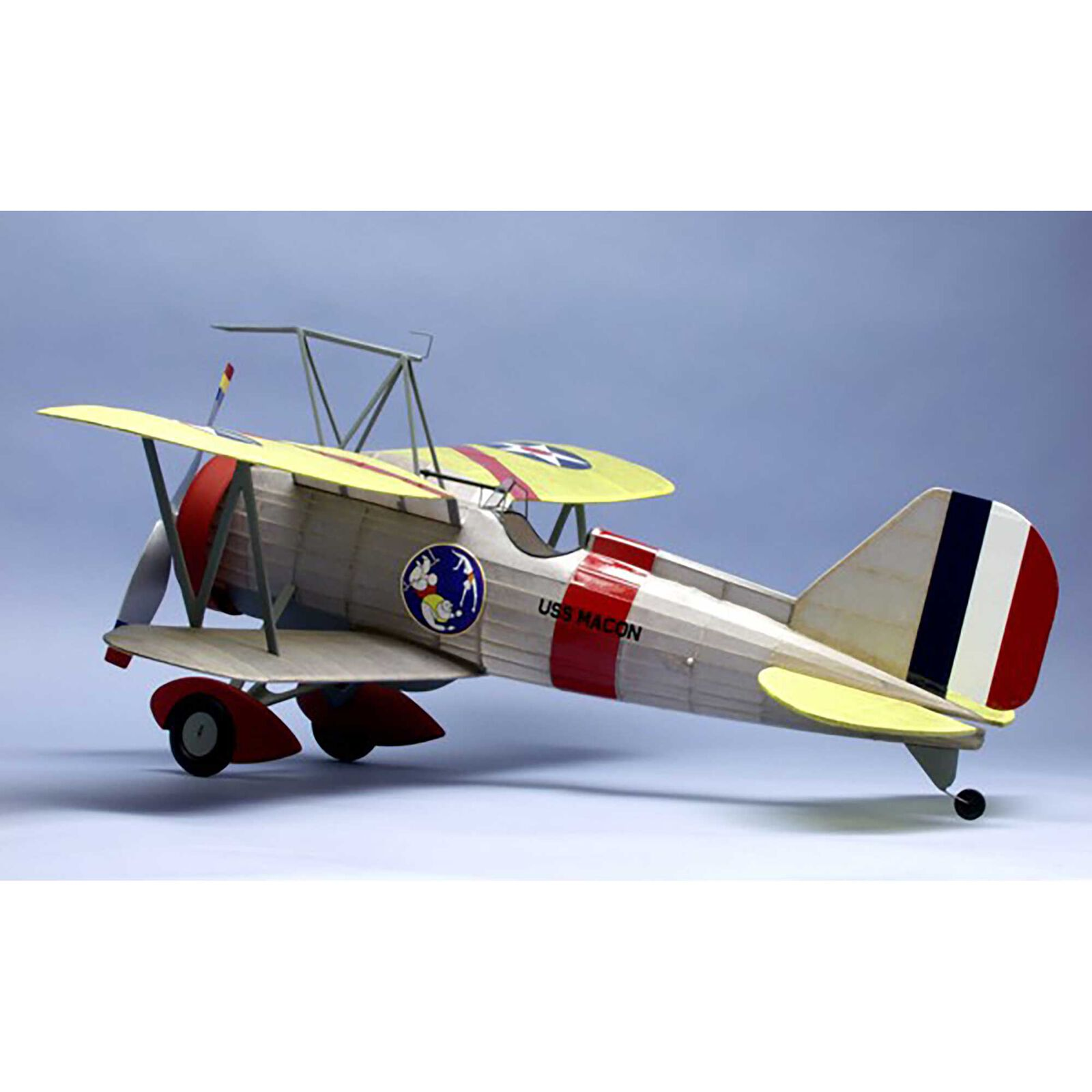 """Curtiss F9C-2 Sparrowhawk Rubber Powered Kit, 30"""""""