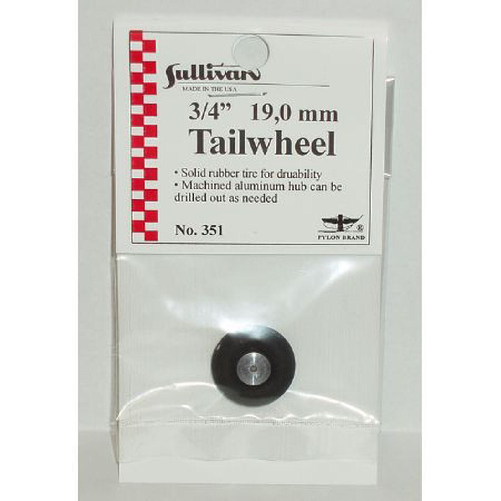 """Tailwheel, 3/4"""""""
