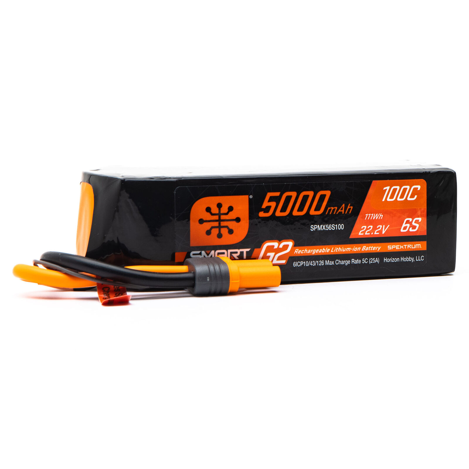 22.2V 5000mAh 6S 100C Smart G2 LiPo Battery: IC5