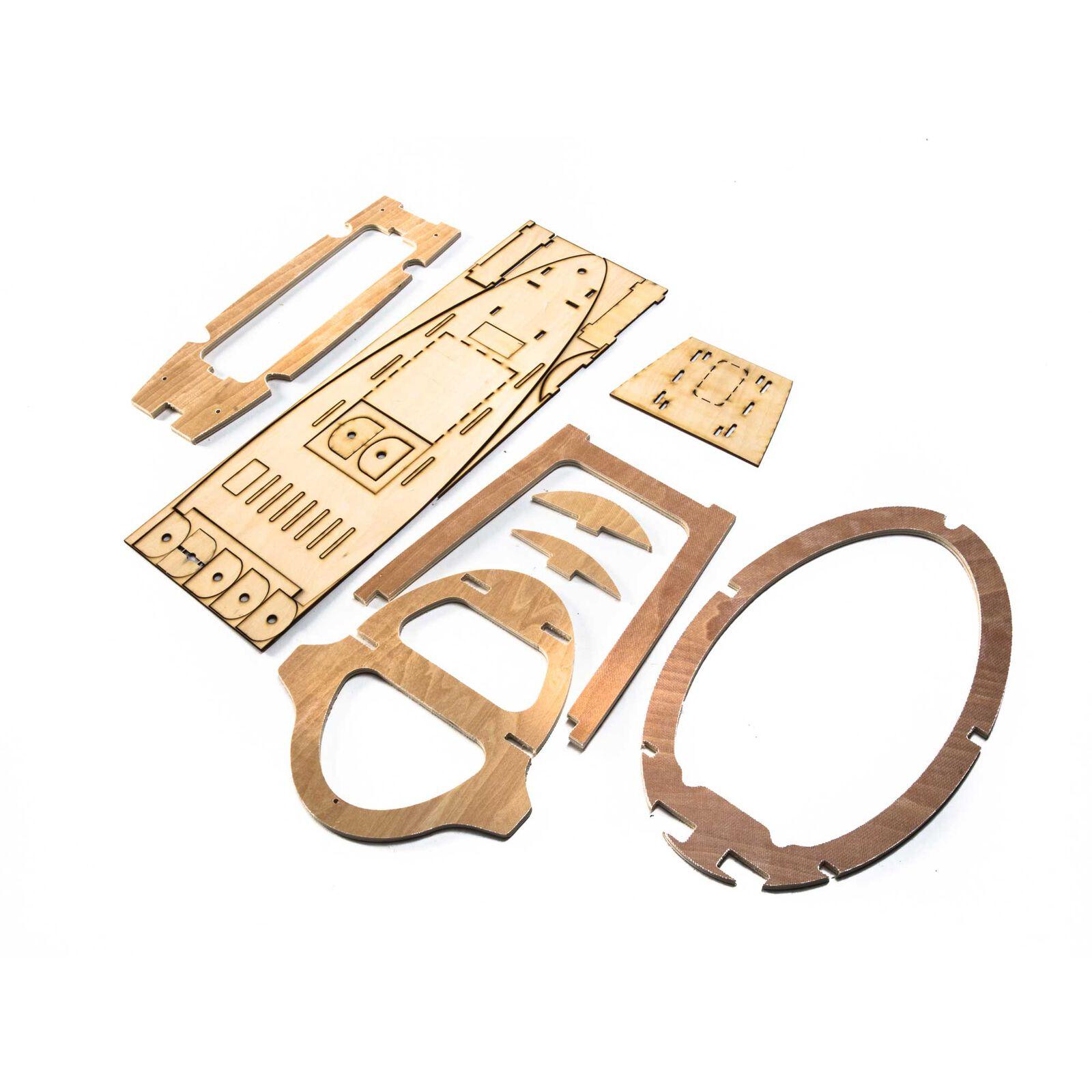 Plywood Landing Gear Parts: ASH 31 6.4m