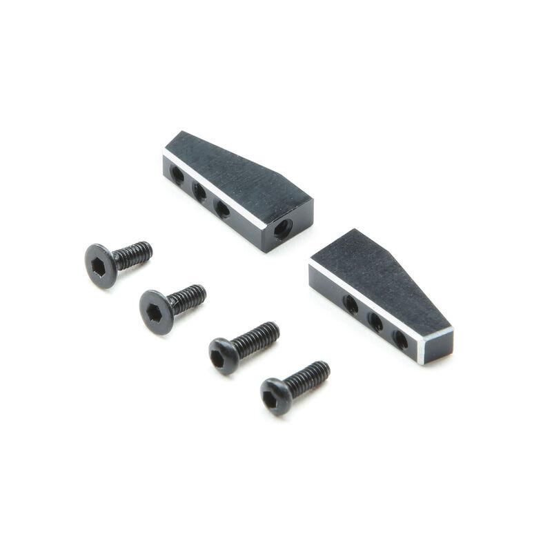 Servo Mount Set, Aluminum: Mini-T 2.0