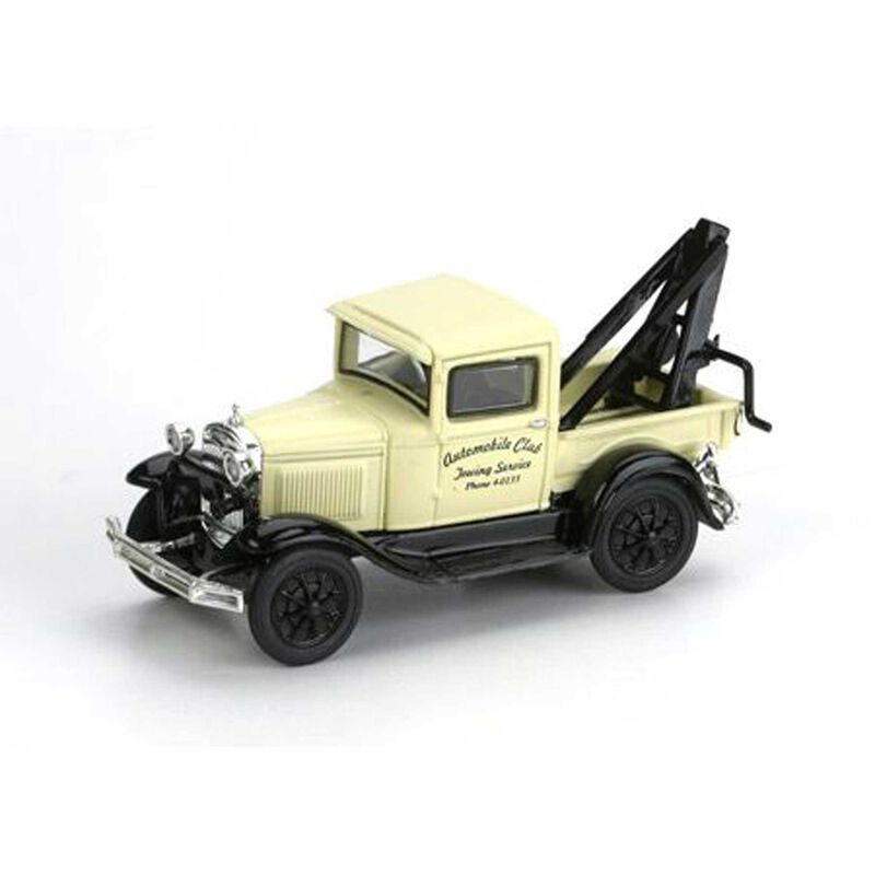 HO RTR Model A Tow Truck, Auto Club Towing
