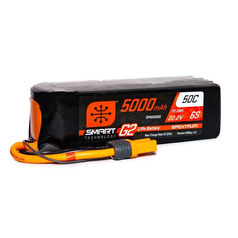22.2V 5000mAh 6S 50C Smart LiPo G2: IC5