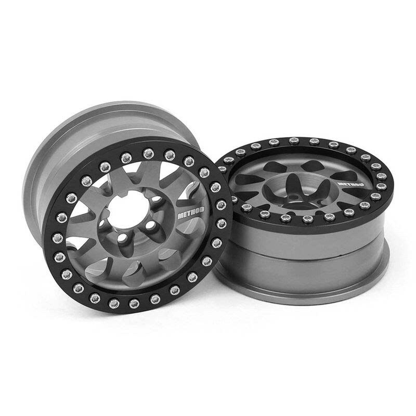 Method 1.9 Race Wheel 101, Grey Anodized V2