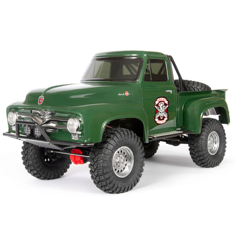 1/10 SCX10 II 1955 Ford F-100 4WD Truck Brushed RTR, Green