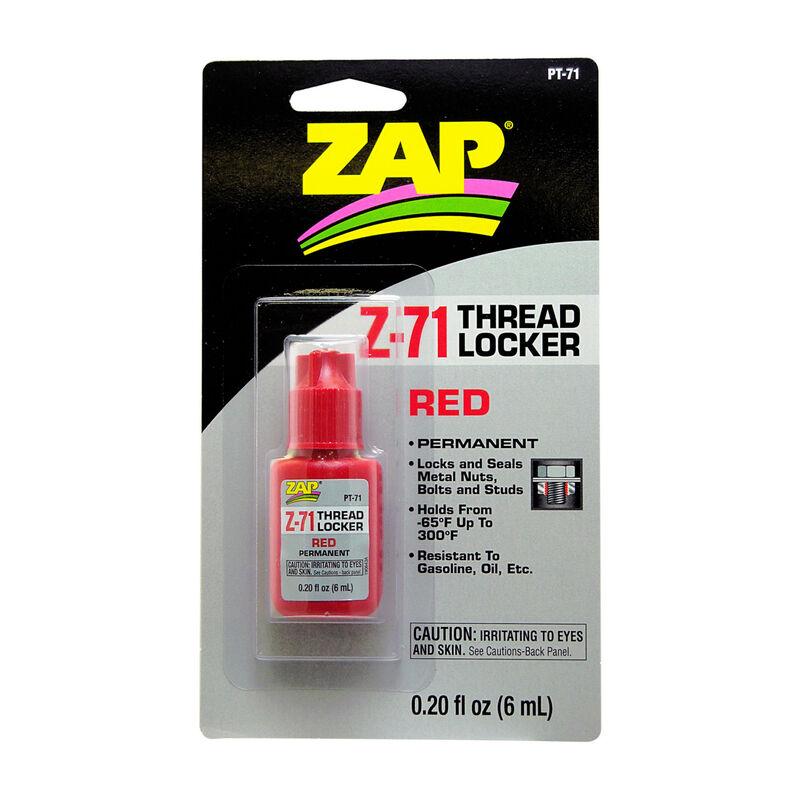 Z-71 Permanent Thread Lock, .20 oz