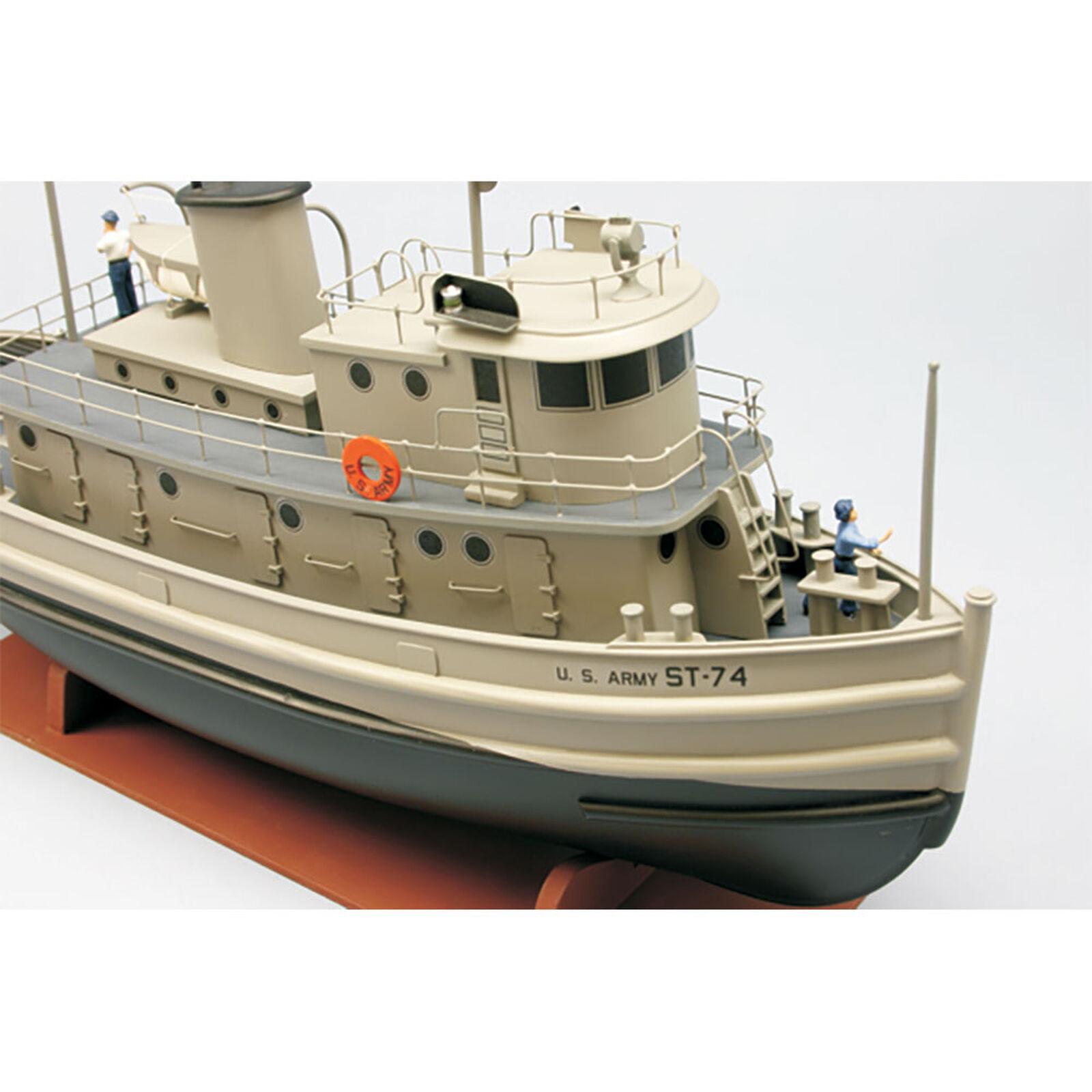 """1/48 U.S. Army ST-74 Tug Boat Kit, 18"""""""