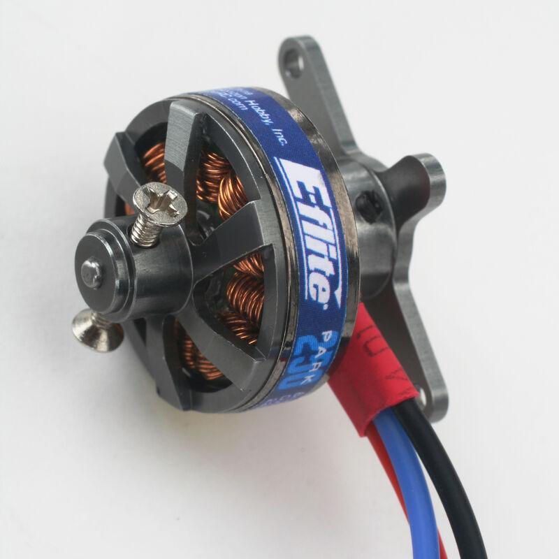 Park 250 Brushless Outrunner Motor, 2200Kv: 2mm Bullet