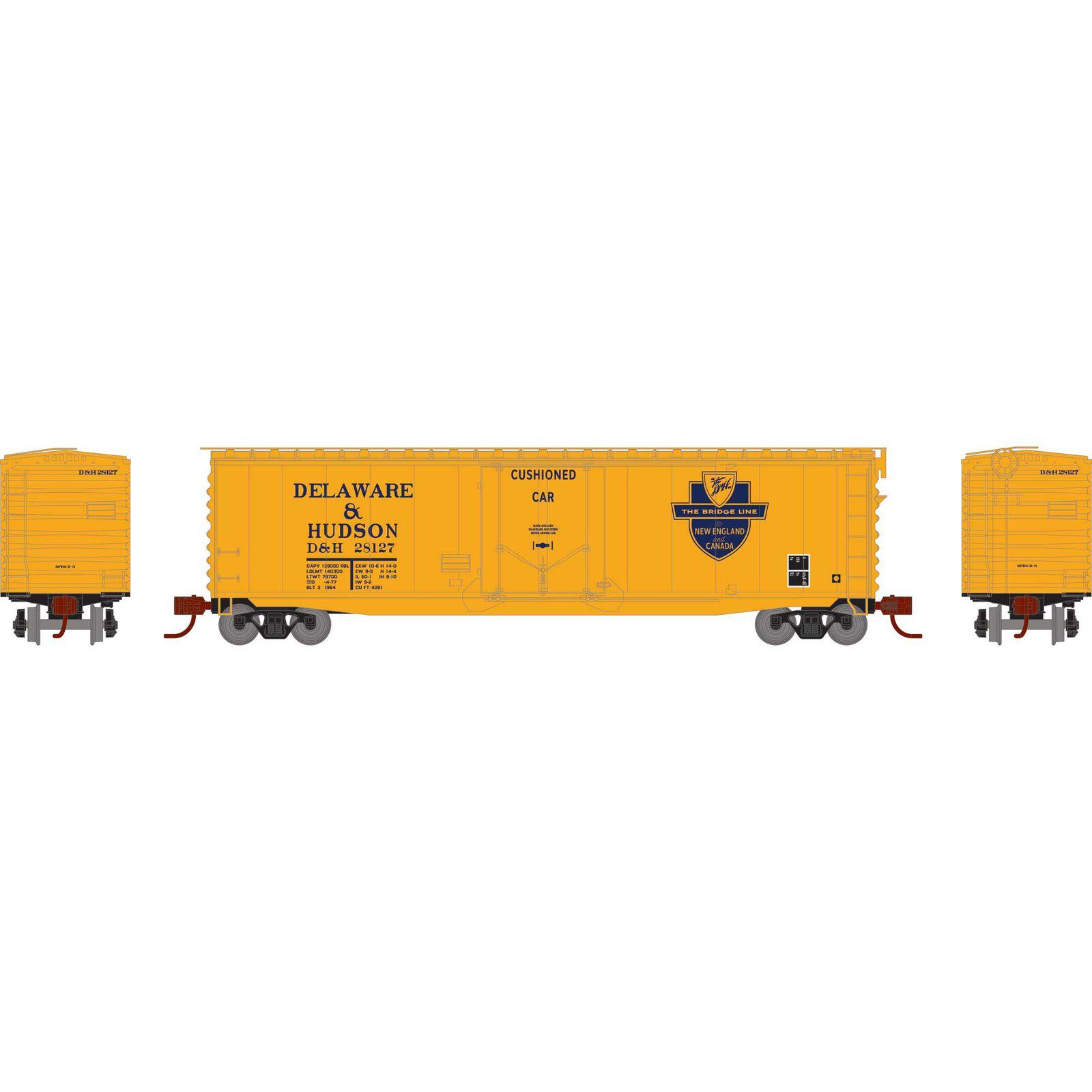 N 50' PS-1 Plug Door Smooth Side Box, D&H #28127