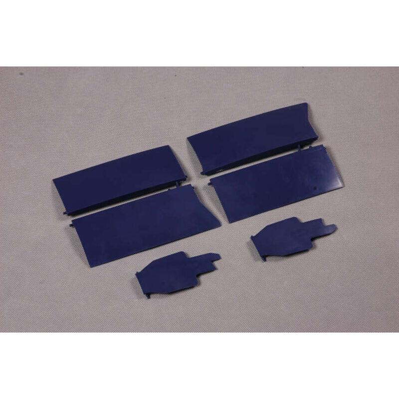 Fr Hatch Cover Blue  F4U 1700mm