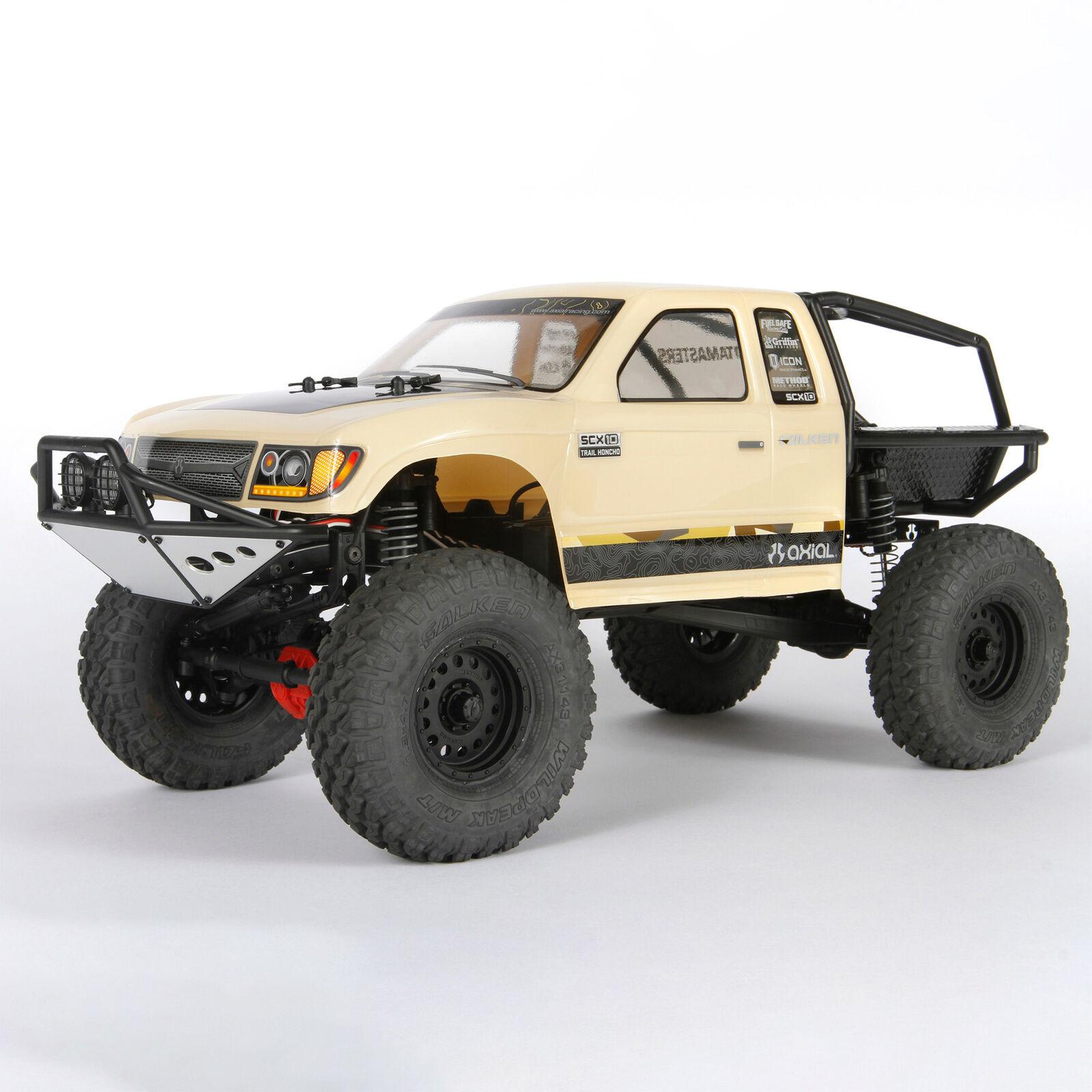 1/10 SCX10 II Trail Honcho 4WD Rock Crawler Brushed RTR