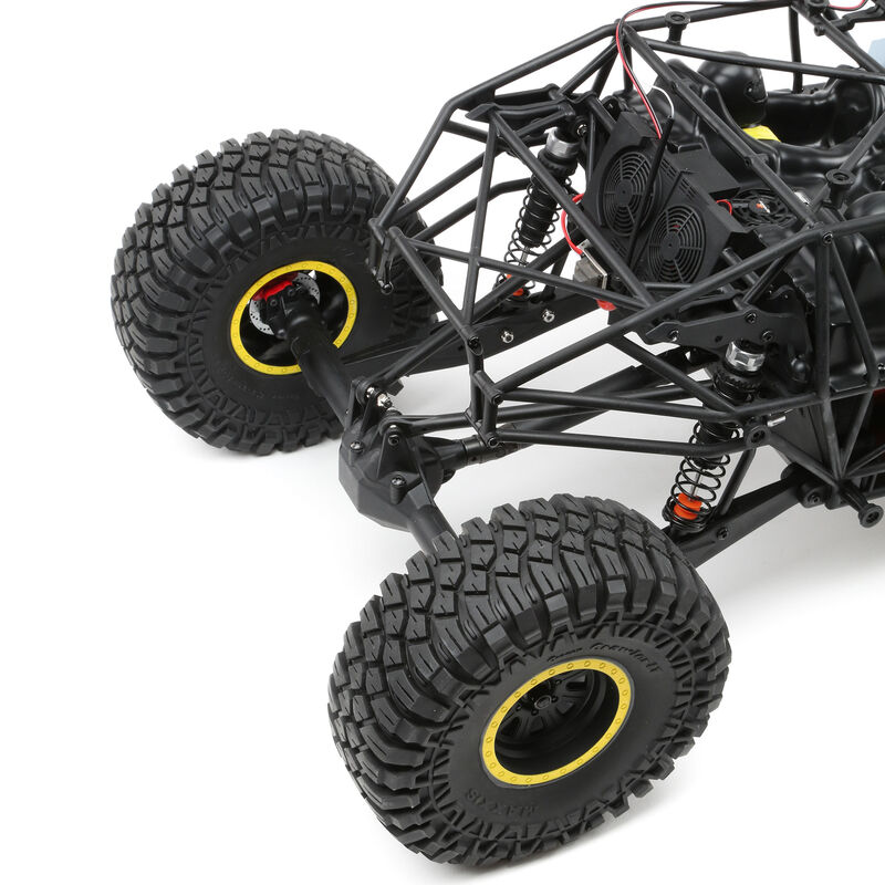 1/10 Rock Rey 4WD Brushless RTR with AVC, Yellow