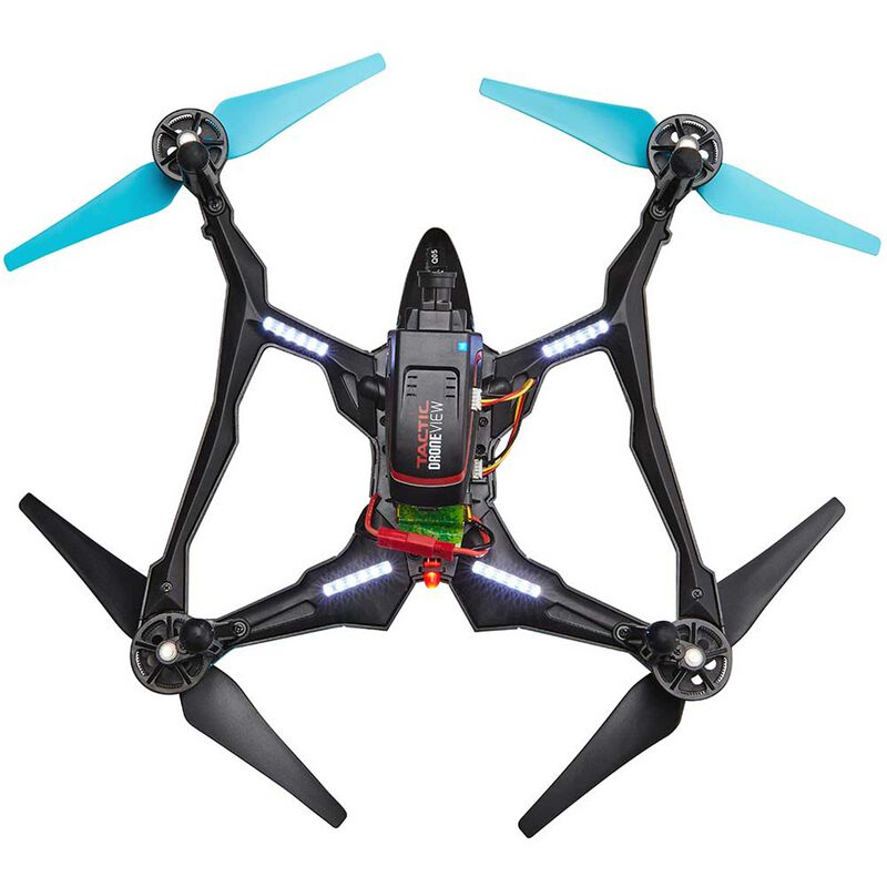 Vista FPV V2 UAV Quadcopter RTF, Blue/White