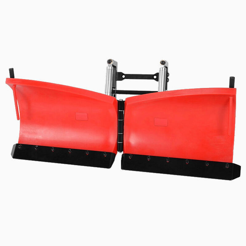 Super Duty V Snow Plow, Red