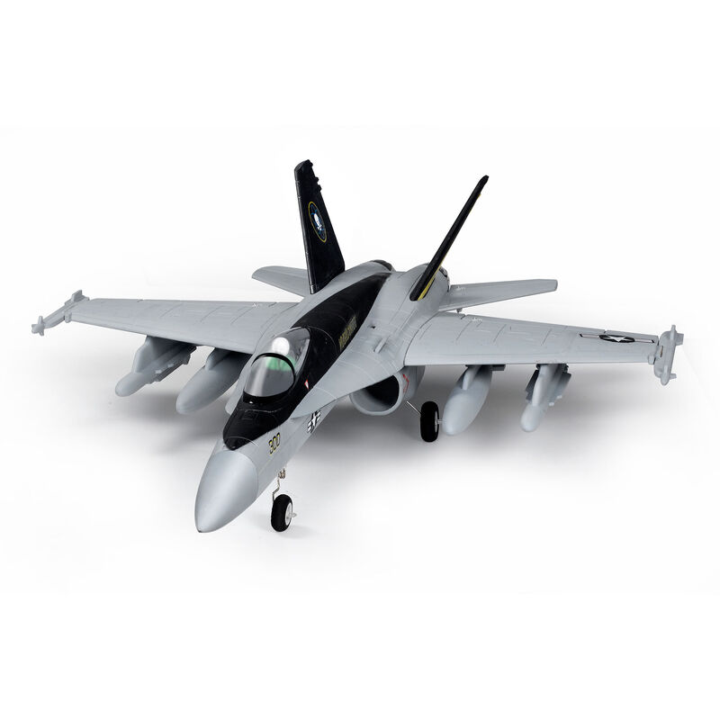 F-18 V2 Gray 64mm EDF Jet PNP, 710mm
