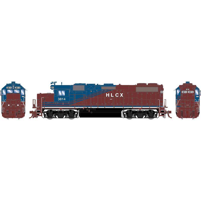 HO GP38-2, HLCX #3814