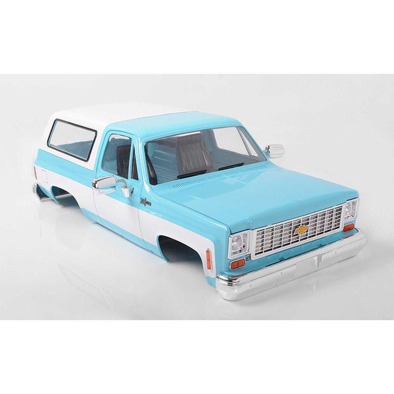 1/10 Chevrolet Blazer Hard Body Complete Set, Light Blue