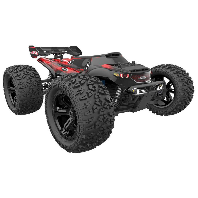 1/8 Team RedCat MT8E BE6S 4WD Monster Truck Brushless RTR, Red/Black (Requires Battery and Charger)