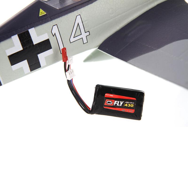 7.4V 430mAh 2S 30C FLY LiPo Battery: JST, PH