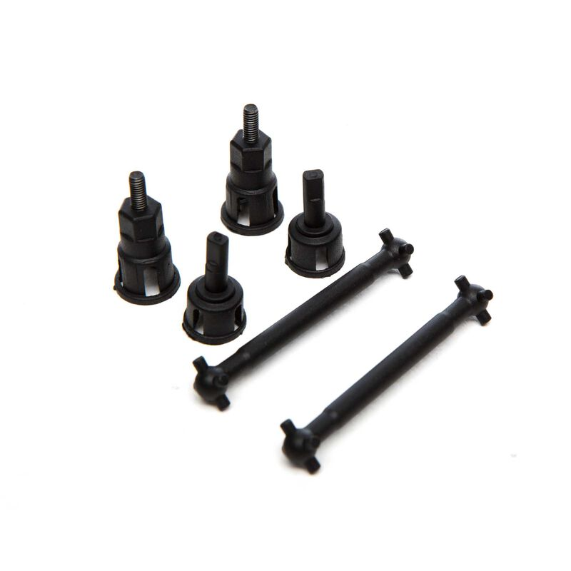Drive Shaft, Axle, Outdrives: 1/18 4WD Seismic