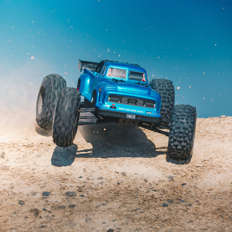 1/8 NOTORIOUS 6S BLX 4WD Classic Stunt Truck RTR, Blue