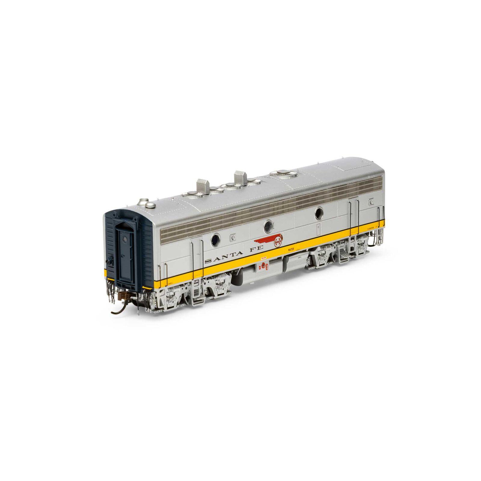 HO F7B with DCC & Sound SF Dual Service #345A