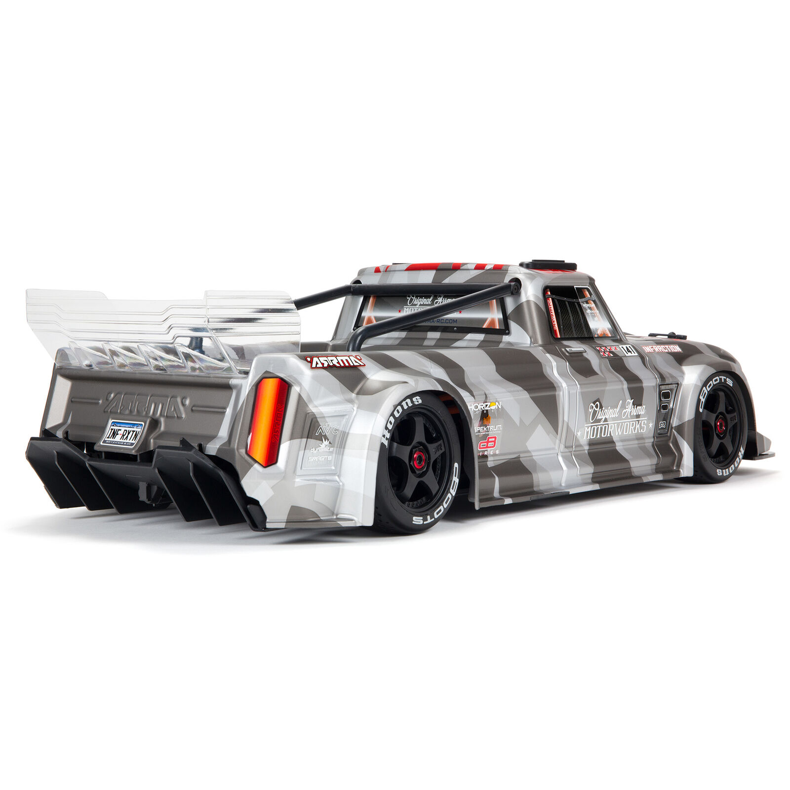 1/7 INFRACTION 6S BLX V2 All-Road Truck RTR, Silver