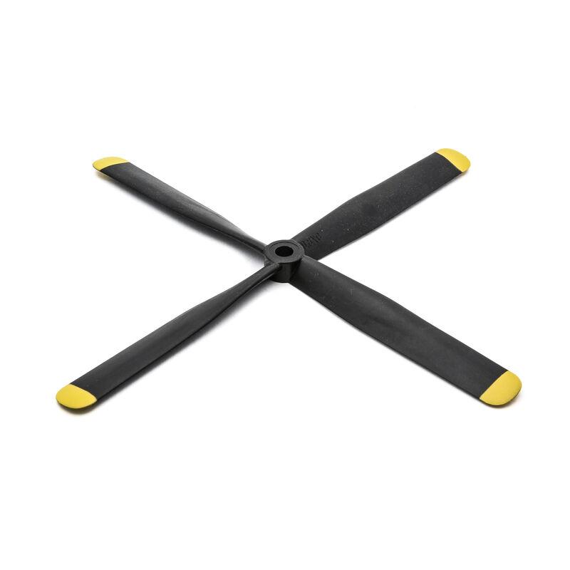 4-Blade Propeller, 9.8 x 6