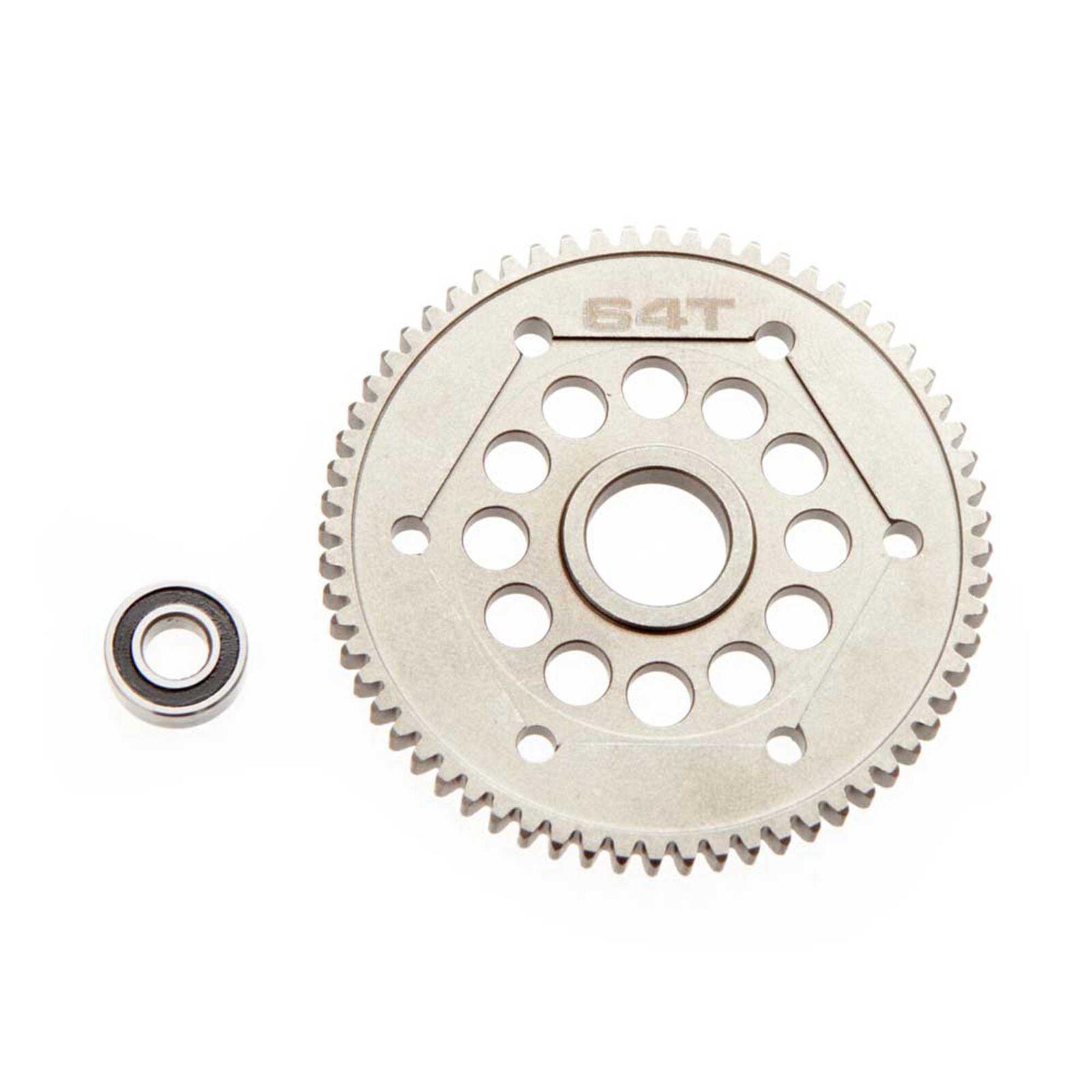 Steel Spur Gear 32P 64T Yeti
