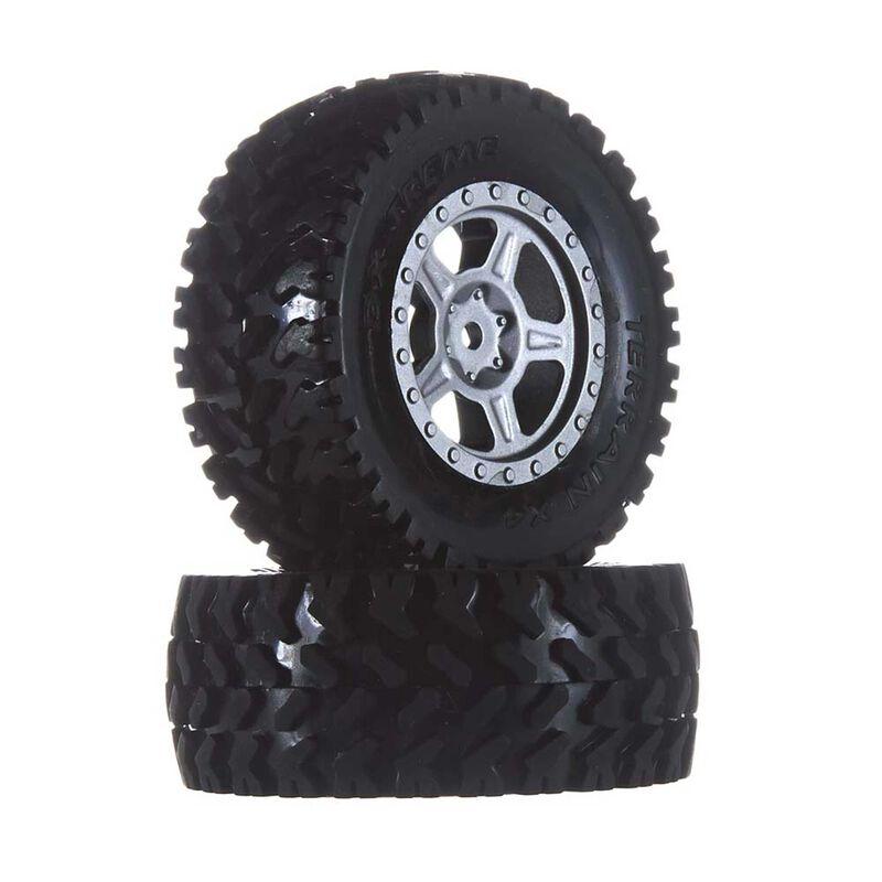 Wheel Tire Assembled with Foam Insert: DT 4.18