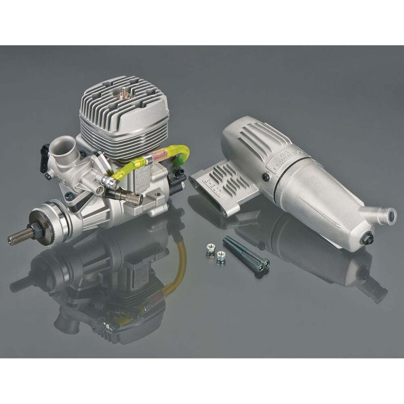GGT10 10cc Gas Glow Ignition 2-Cycle Engine with Muffler