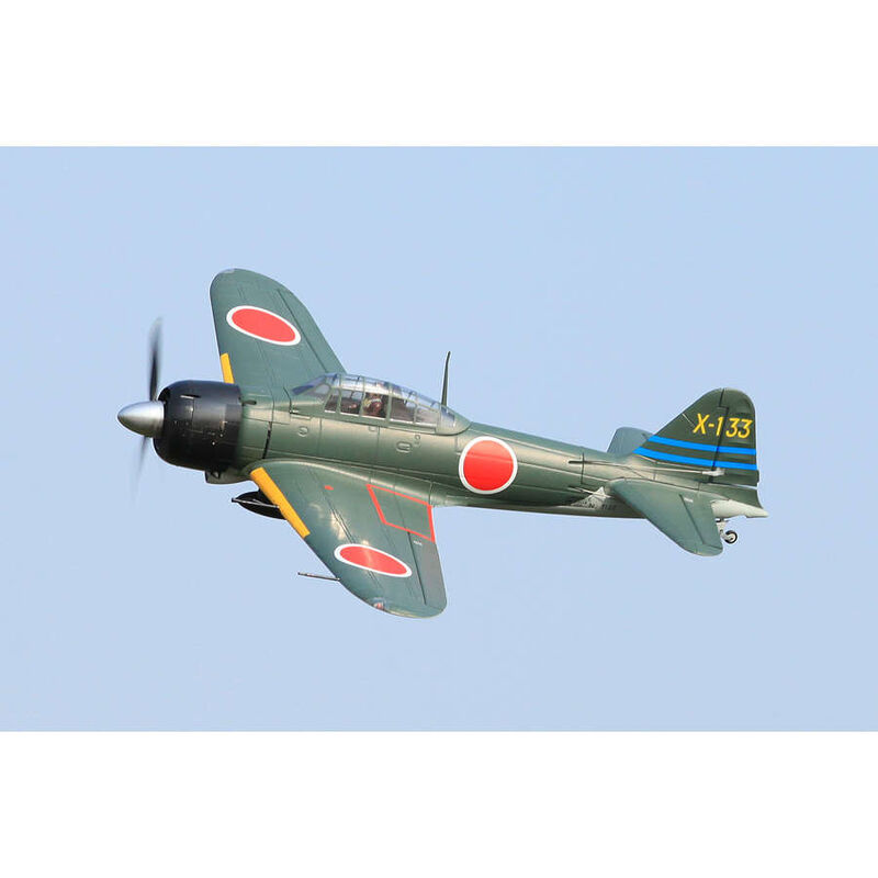 A6M3 Zero Green PNP, 1400mm
