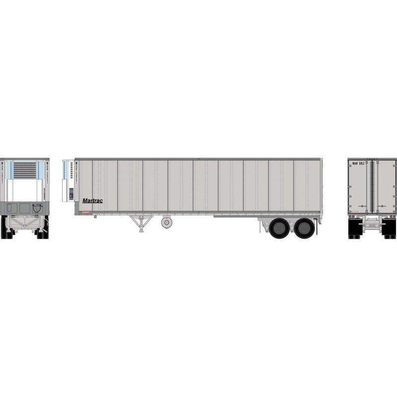 HO RTR 40' Fruehauf Z-Van Trailer, MAR #5052