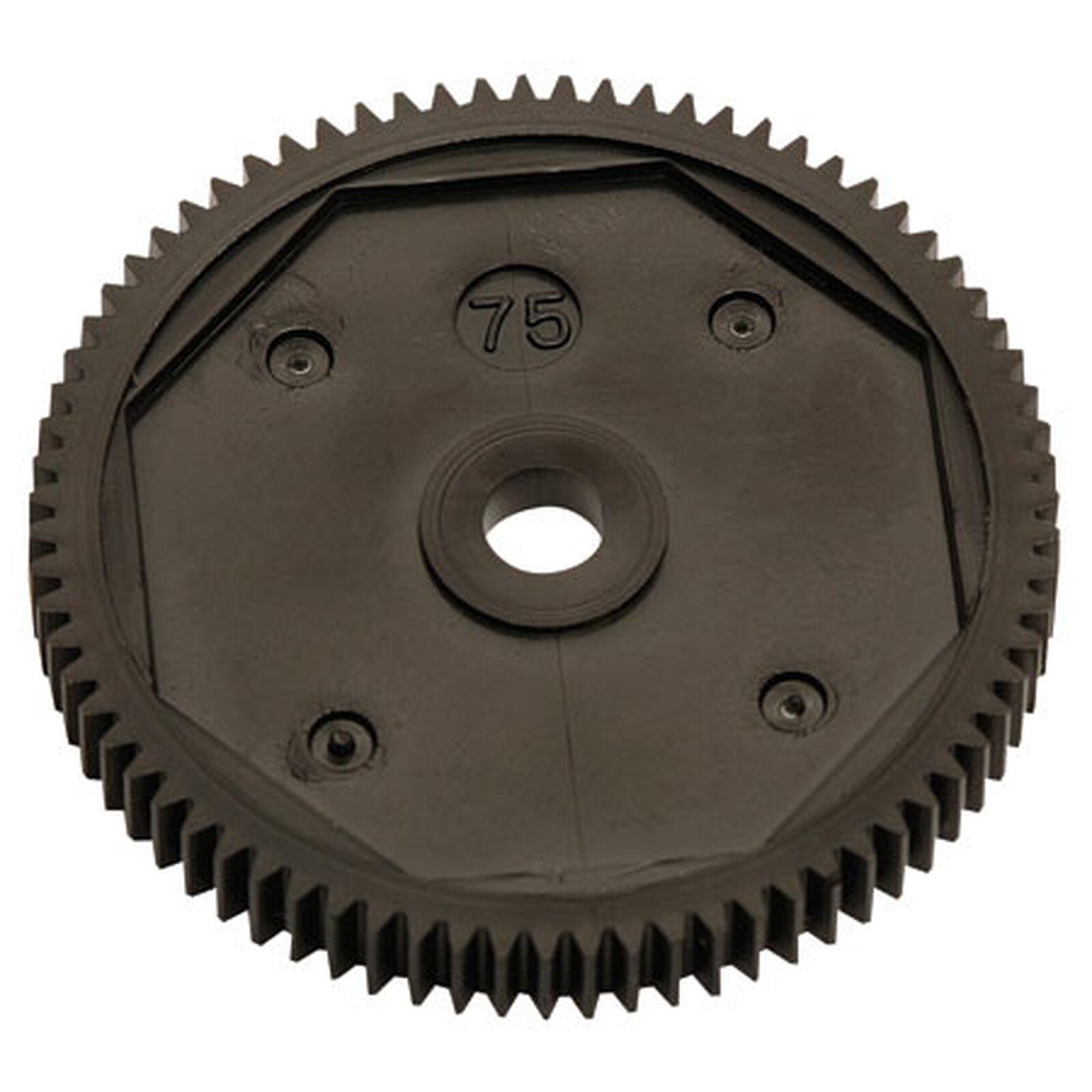 Spur Gear, 75T, 48P: B4/T4