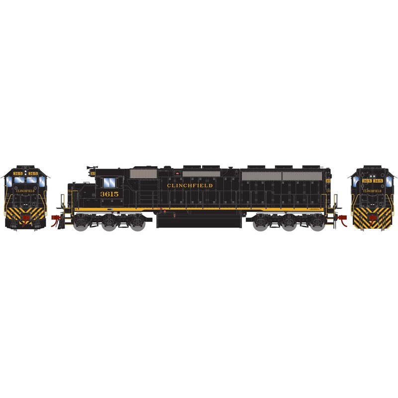 HO SD45-2 with DCC & Sound CRR #3615