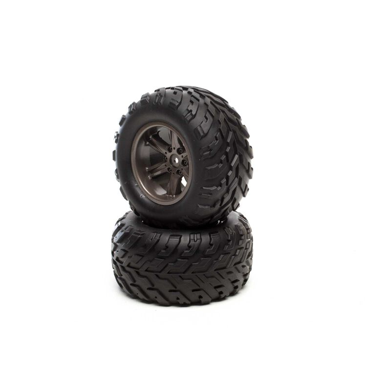 Front and Rear Tire Permanent (2): 1/12 2WD Forge