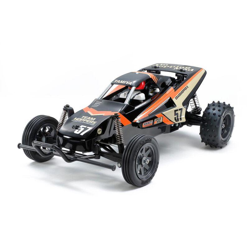 1/10 R/C The Grasshopper II Black SP