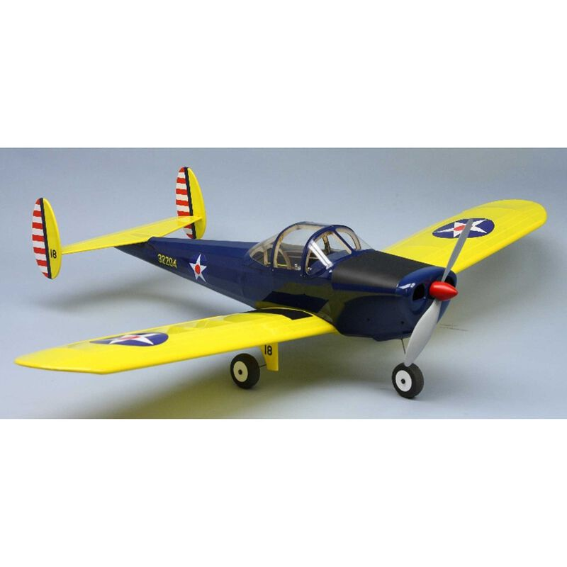 """Erco Ercoupe Electric Airplane Kit, 36"""""""