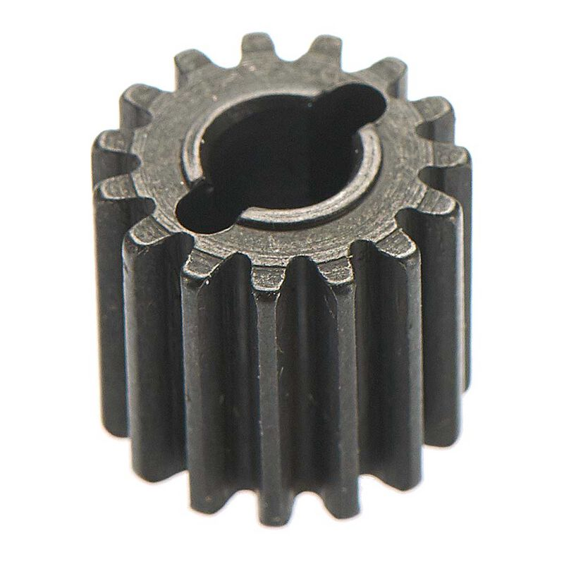 Input Shaft Gear 15T 0.8 Mod Metal