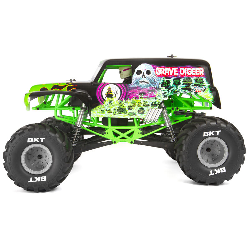 Axial 1 10 Smt10 Grave Digger 4wd Monster Truck Brushed Rtr Horizon Hobby