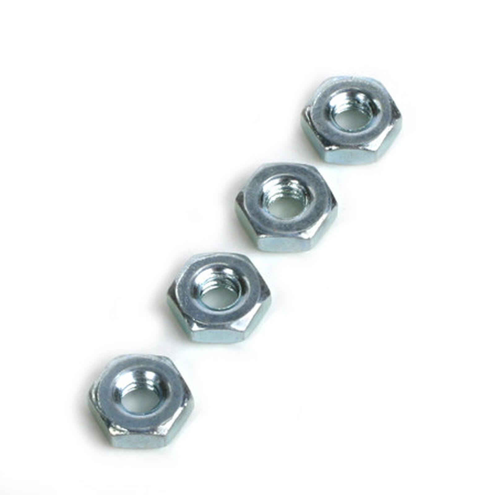 Steel Hex Nuts, 8-32