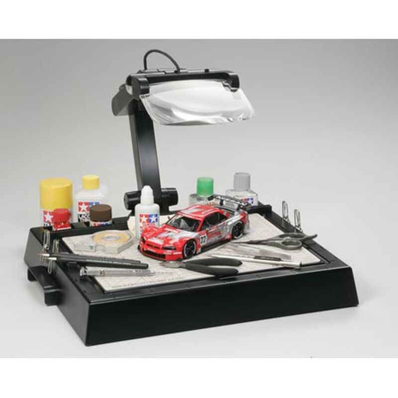 Tamiya Work Station with Magnifying Lens