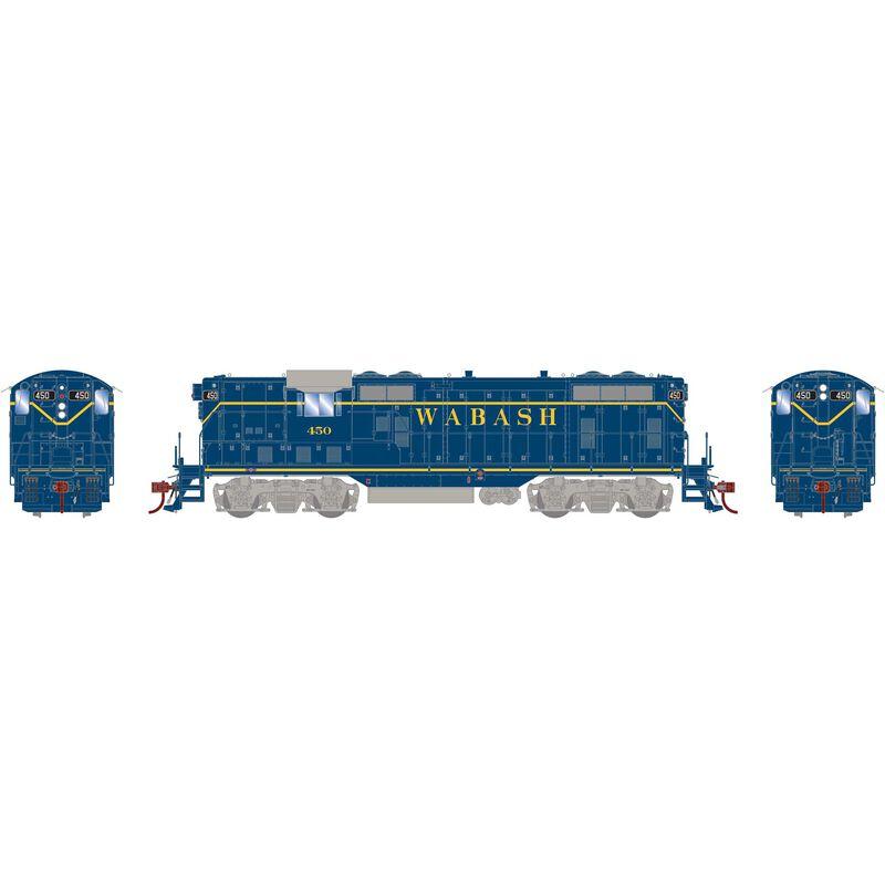HO GP7 Wabash Blue #450