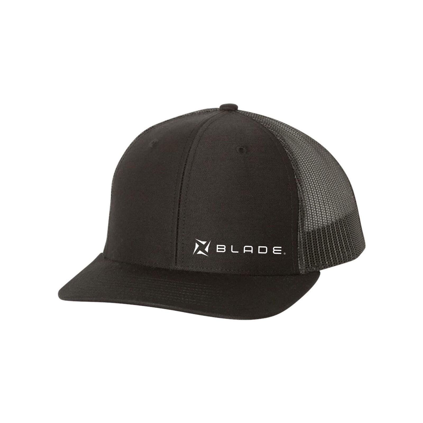 Blade Snap Back Hat/Cap Charcoal Black