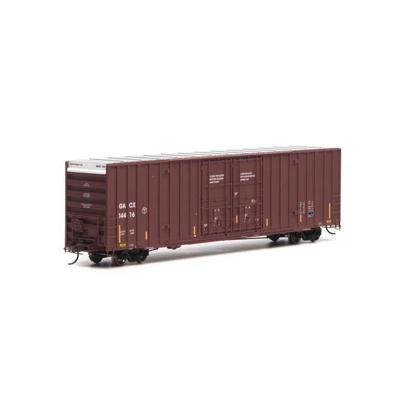 HO RTR 60' Gunderson Box GACX #14416
